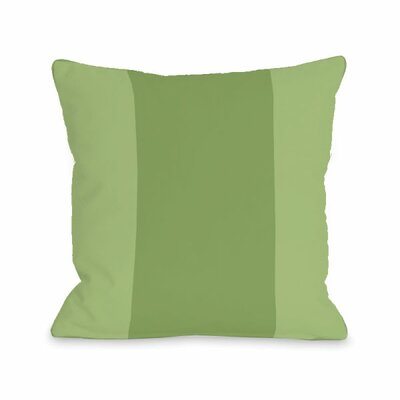 Block Throw Pillow Size: 16 H x 16 W x 3 D, Color: Olive