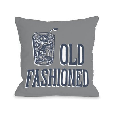 Old Fashioned Stacked Throw Pillow Size: 16 H x 16 W x 3 D