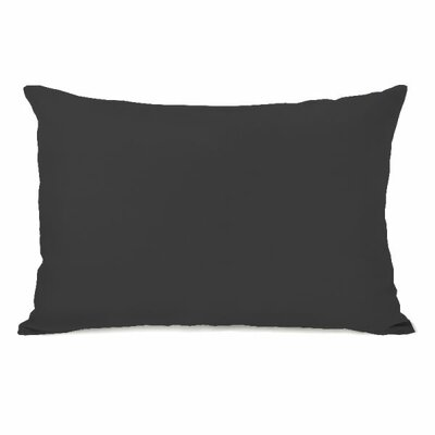 Bilderback Throw Pillow Color: Charcoal