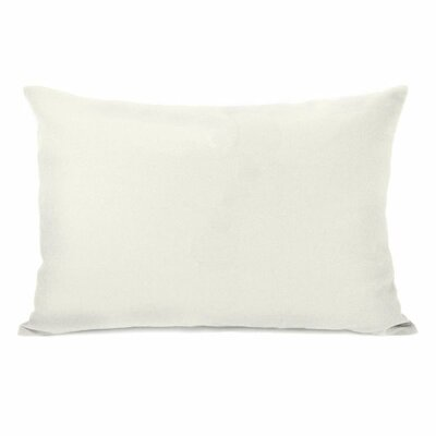 Lumbar Pillow Color: Ivory