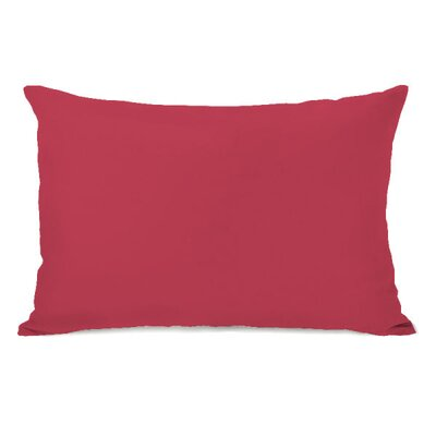 Bilderback Throw Pillow Color: Rose