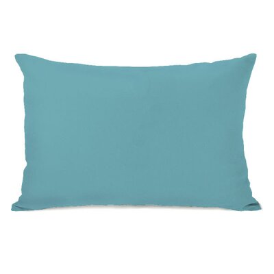 Solid Throw Pillow Color: Sky
