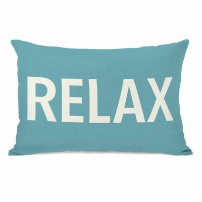 Relax Lumbar Pillow Color: Sky