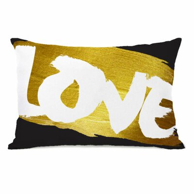 Love Paint Lumbar Pillow