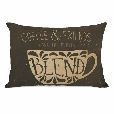 Coffee and Friends Throw Pillow