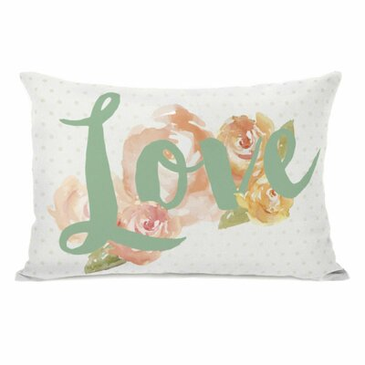 Peony Love Throw Pillow