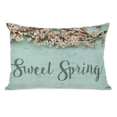 Sweet Spring Lumbar Pillow
