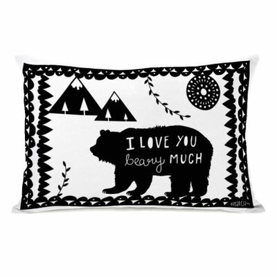 Beary Much Throw Pillow