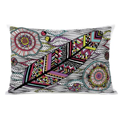 Dream Feather Throw Pillow