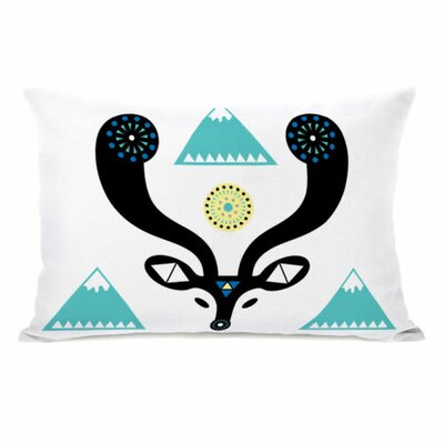 Navajo Deer Mountain Throw Pillow