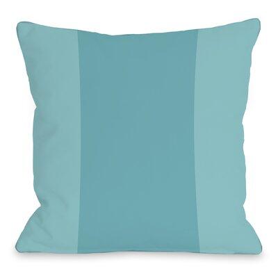 Throw Pillow Size: 16 H x 16 W x 3 D, Color: Sky