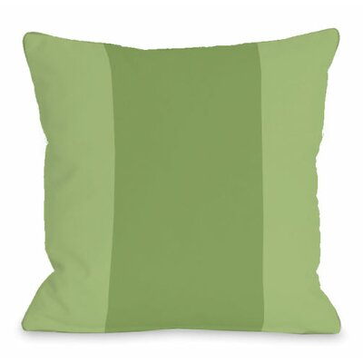 Throw Pillow Size: 16 H x 16 W x 3 D, Color: Olive