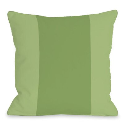 Block Outdoor Throw Pillow Color: Olive