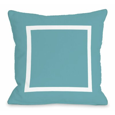 Open Box Outdoor Throw Pillow Color: Sky