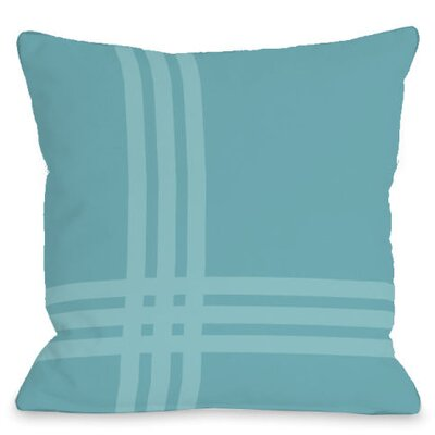 Pop Outdoor Throw Pillow Color: Sky