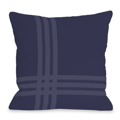 Pop Outdoor Throw Pillow Color: Midnight