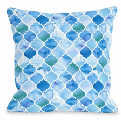 Ocean Moroccan Throw Pillow