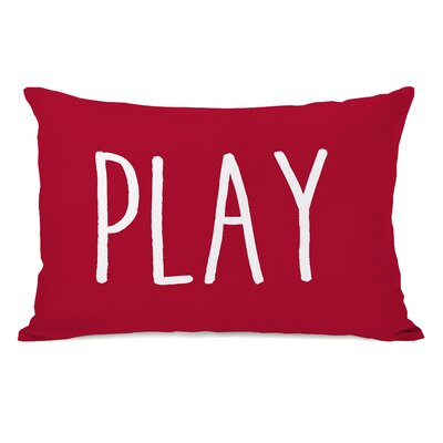 Play Lumbar Pillow