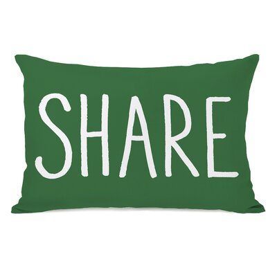 Share Fleece Lumbar Pillow