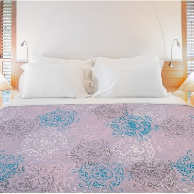 Frozen Burst Duvet Cover