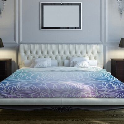 Rosettes Duvet Cover Size: Full Queen