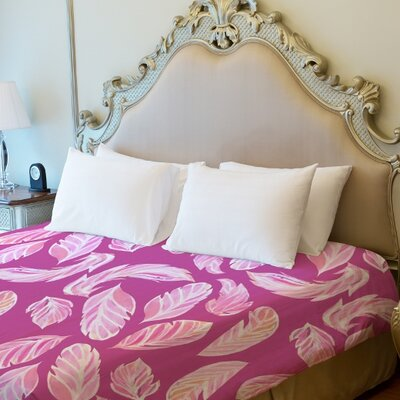 Stilettos Feathers 2 Duvet Cover Size: Full Queen