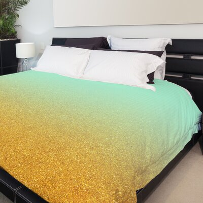 Brooke Fleece Duvet Cover Size: King