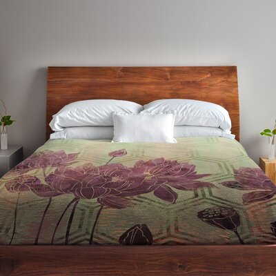 Zen Fleece Duvet Cover Size: King