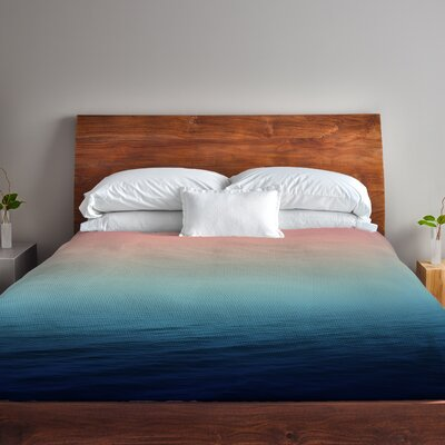 Deap Sea Fleece Duvet Cover Size: King
