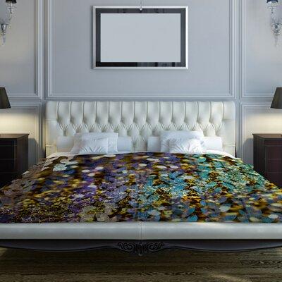 Confetti Fleece Duvet Cover Size: King