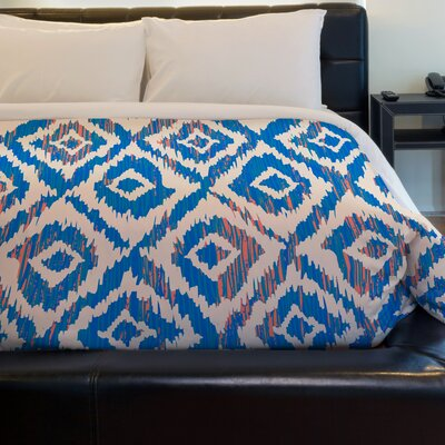 Blue Tinged Summer Fleece Duvet Cover Size: Full / Queen
