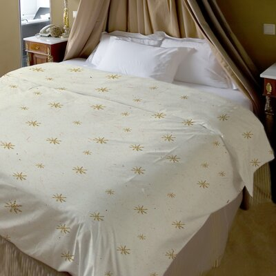Shine Bright Fleece Duvet Cover Size: Full / Queen