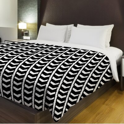 Chroma Fleece Duvet Cover Size: Full / Queen