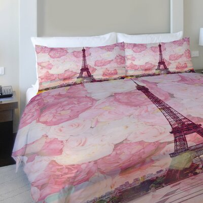 La Tour Eiffel Full/Queen Duvet Cover