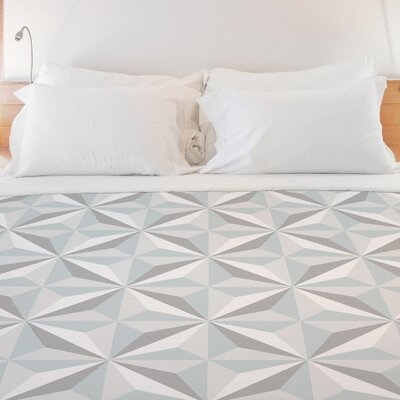 Shultz Geometric Duvet Cover Size: King