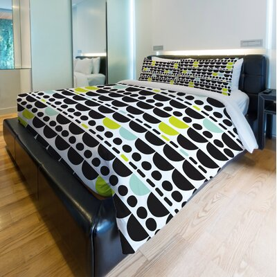 Dani Multi Duvet Cover Size: King