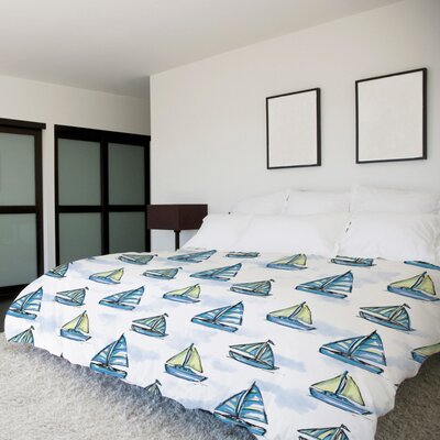 Boats Main Duvet Cover