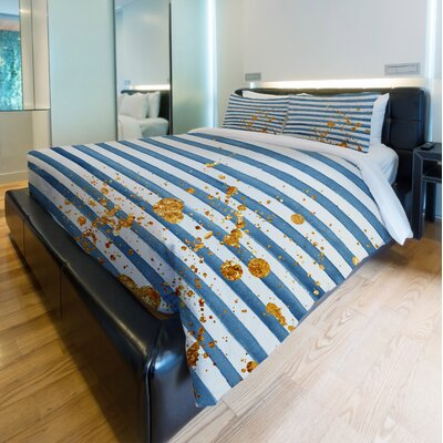 Gold Generator Duvet Cover Size: Twin