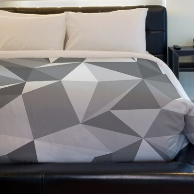 Kelsi Geometric Duvet Cover Size: Full Queen