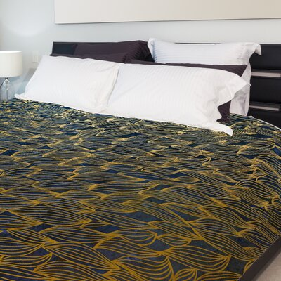 Genette Fleece Duvet Cover Size: King