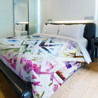Garden State Fleece Duvet Cover Size: King