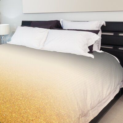 Avery Fleece Duvet Cover Size: King