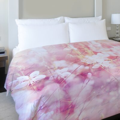 Roaming the Field Fleece Duvet Cover Size: King