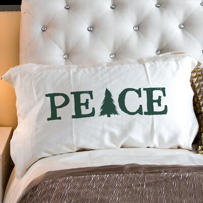 Peace Tree Pillow Case