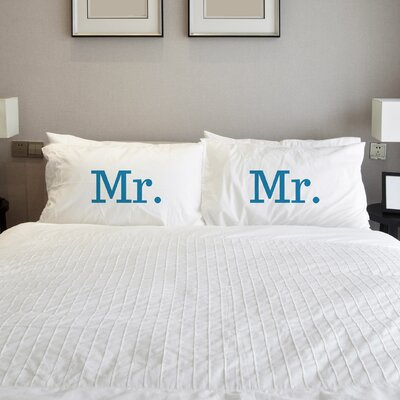 Better Together Mr. Mr. Pillow Case