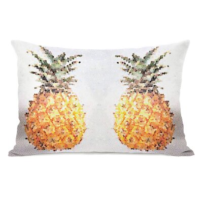 Pineapple Half Lumbar Pillow