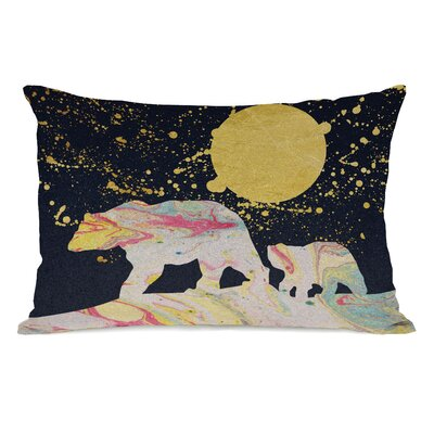 Moon Bear Lumbar Pillow