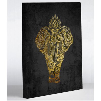 'India Ele' Graphic Art on Canvas 75043WD8