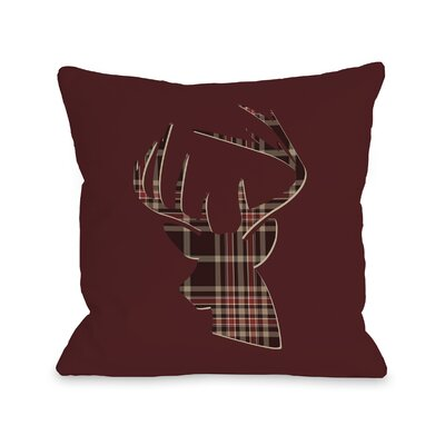 Vixen Plaid Throw Pillow Size: 18 H x 18 W
