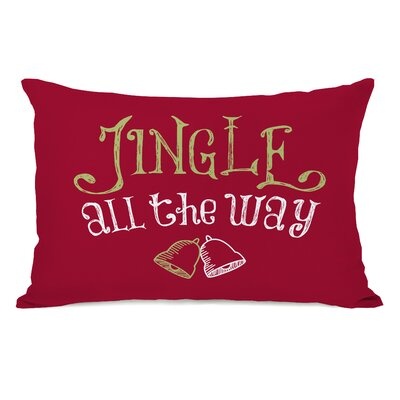 Jingle All the Way Lumbar Pillow 75077PL42